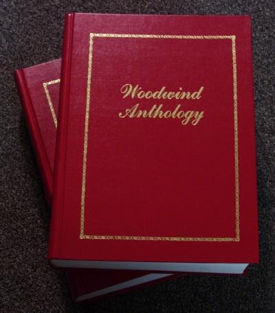 Woodwind Anthology cover