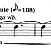 Excerpt from Fisher Tull, Sarabande and Gigue