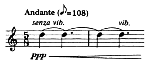 Excerpt from Fisher Tull, <i>Sarabande and Gigue</i>