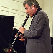 Jazz clarinetist (and saxophonist!) Eddie Daniels. Photo, Professor Bop.