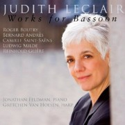 Judith Leclair: Works for Bassoon