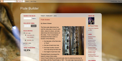 Flute Builder
