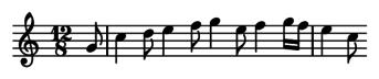 12/8 rhythm