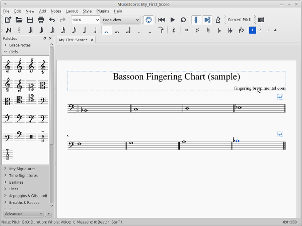 MuseScore setup
